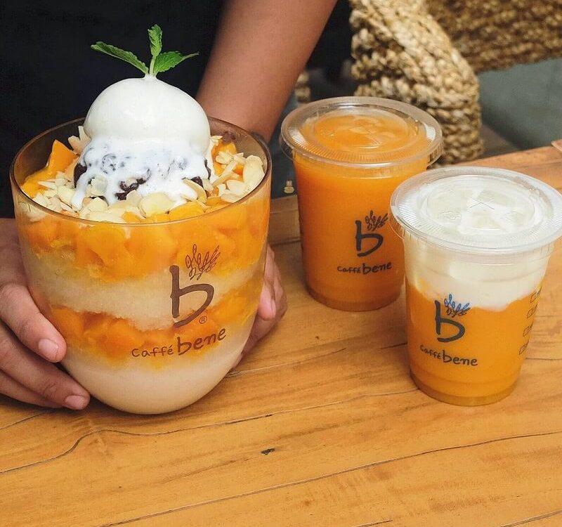 gambar mango bingsu