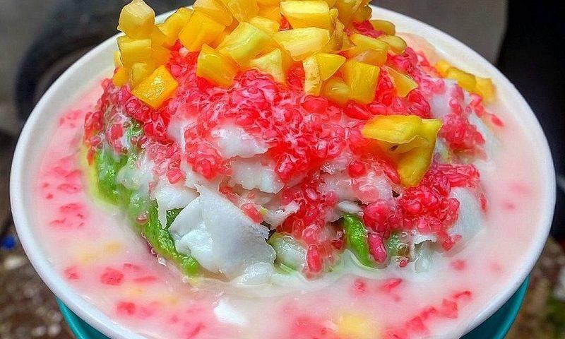 gambar es campur buah