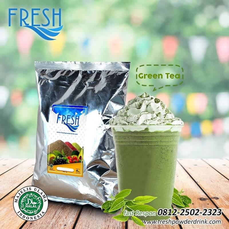 jual bubuk green tea