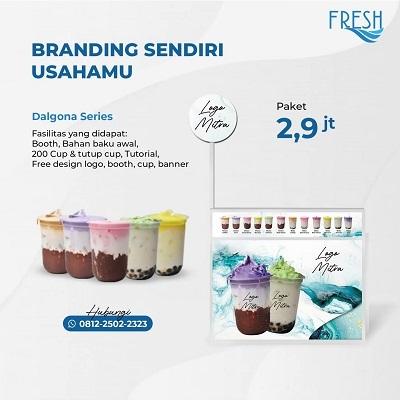 paket booth 2 jutaan fresh powder drink
