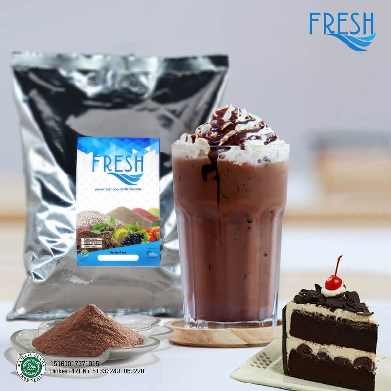 bubuk coklat blackforest