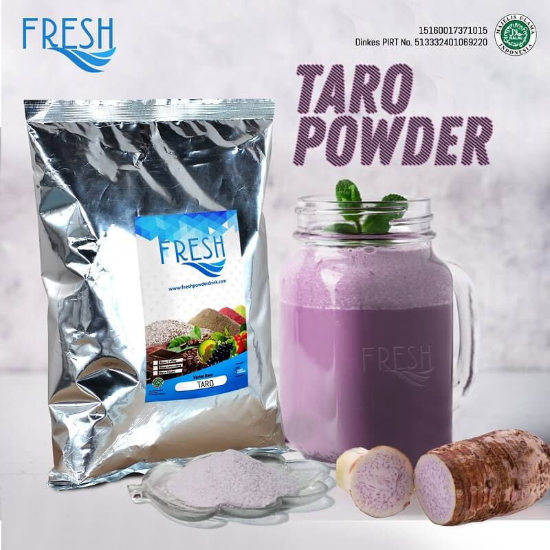 bubuk minuman taro powder drink