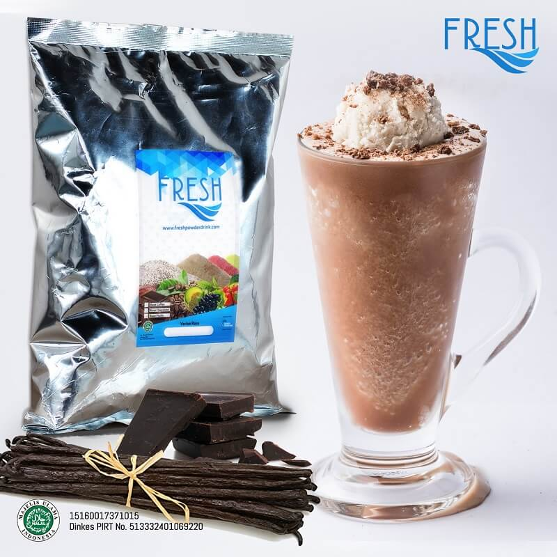 serbuk minuman Choco Vanilla 1kg